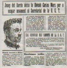 Manifiesto de la UCE (Unión Civica Española) de José del Barrio (1959)