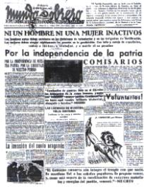 Informe de Fernando Montoliú sobre los acontecimientos finales de la guerra civil, desde el golpe de Casado ( I )
